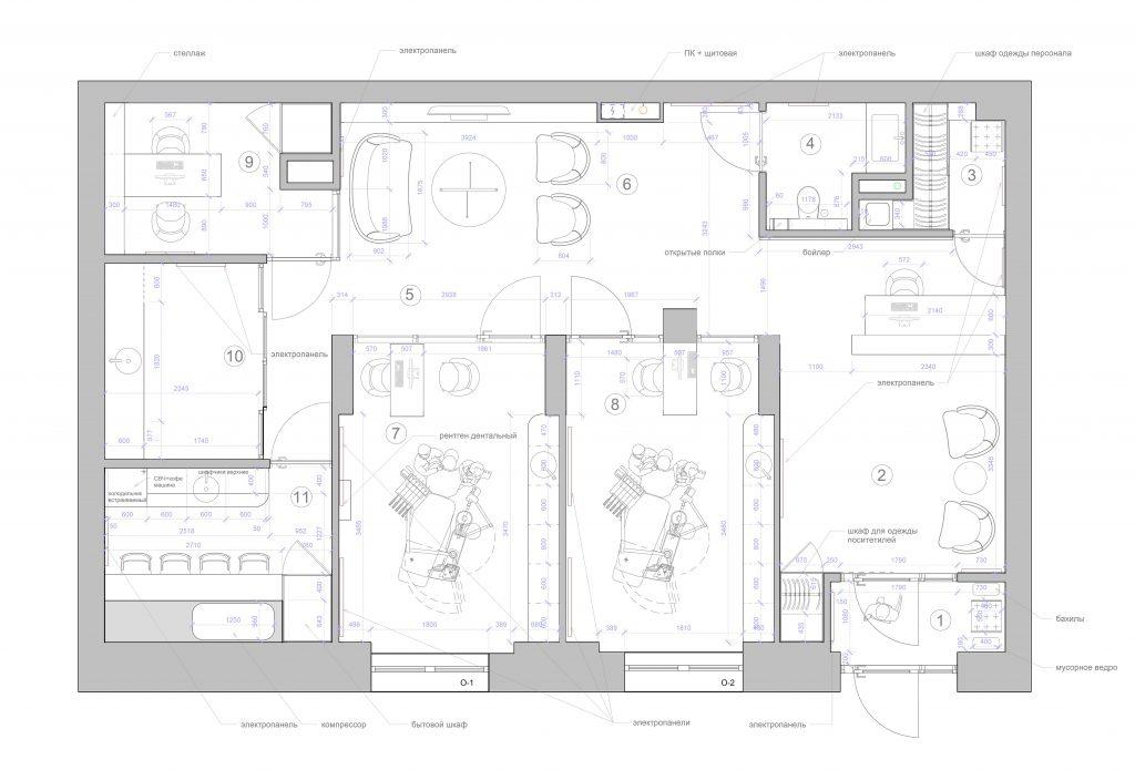 3перепланировка - План этажа - Уровень 1
