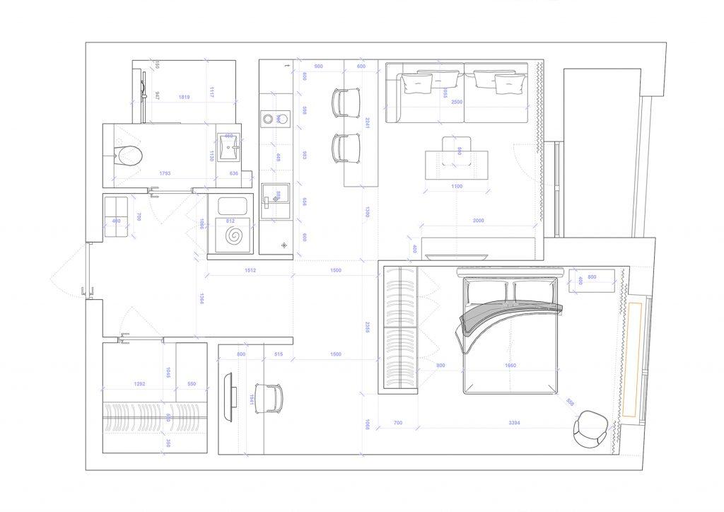 avtograph - План этажа - 4 план перепланировки