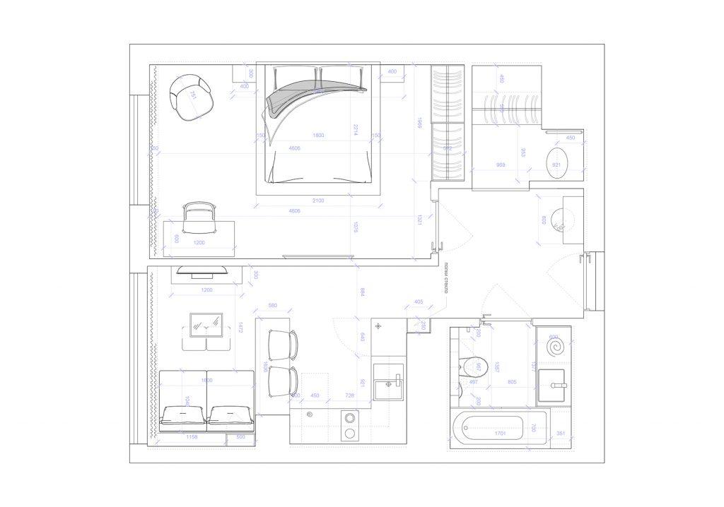 park_land - План этажа - 4 план перепланировки