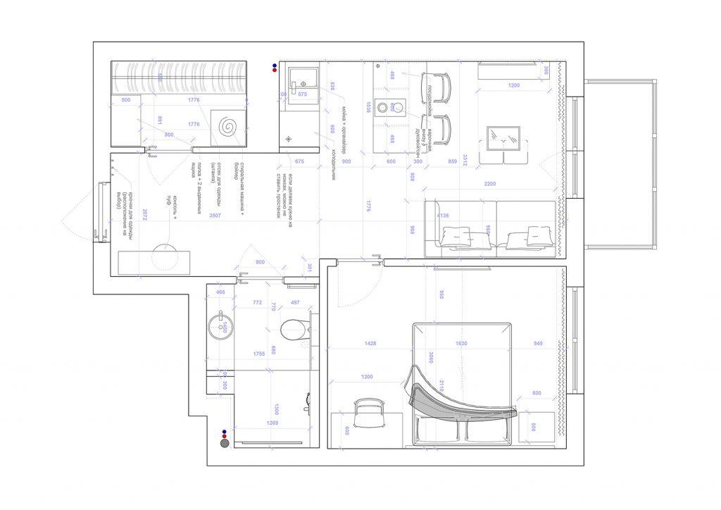 галактика_final_копия - План этажа - 4 план перепланировки