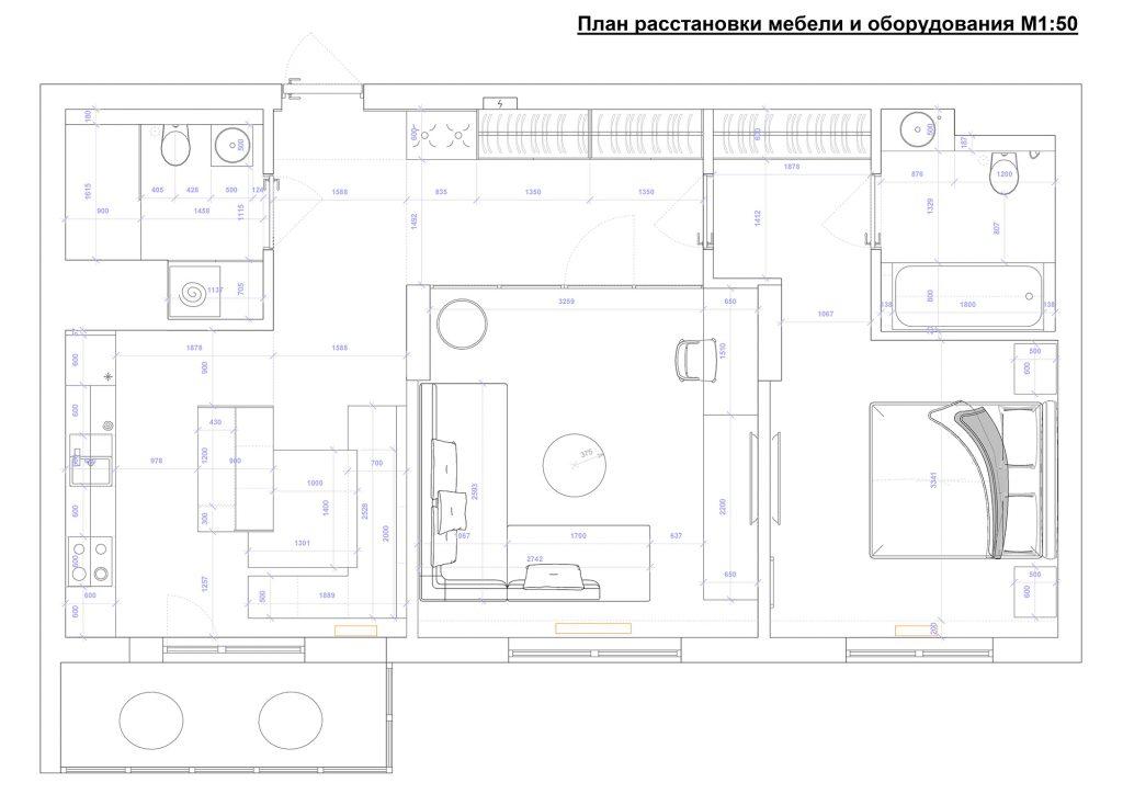 паковые озера - План этажа - 4 план перепланировки